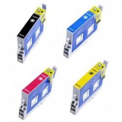 Pack 4 Tinteiros Compatíveis Epson T0441/2/3/4