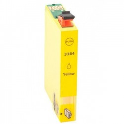 Tinteiro Epson Compatível 33 XL Amarelo, T3364