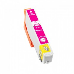 Tinteiro Epson Compatível 24 XL, T2433 magenta