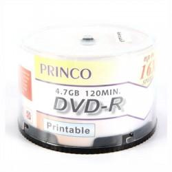 DVD-R Princo 16X Imprimíveis - Pack 50