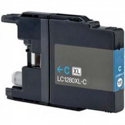 Tinteiro Brother Compatível LC1220 / LC1240 / LC1280C Azul