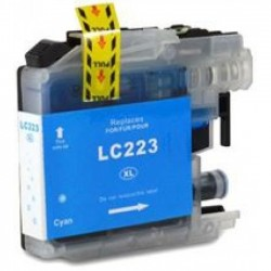 Tinteiro Brother Compatível LC221 / LC223 XL Azul