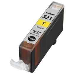 Tinteiro Canon Compatível CLI-521BK Amarelo