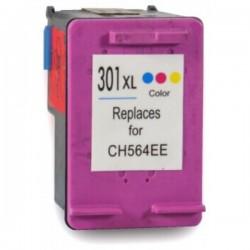 Tinteiro HP Compatível 301 XL Tricolor V3 (CH564EE)