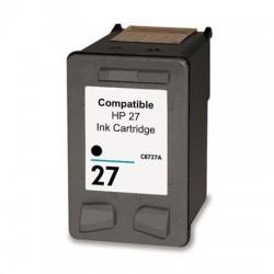 Tinteiro HP Compatível Nº 27 preto (C8727AE)