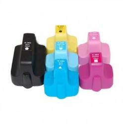 Pack 6 Tinteiros Compatíveis HP 363 XL