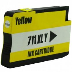 Tinteiro HP Compatível 711 Amarelo (CZ132A)