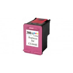 Tinteiro HP Compatível Nº 300 XL tricolor (CC644EE)