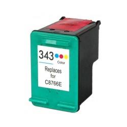 Tinteiro HP Compatível Nº 343 tricolor (C8766EE)