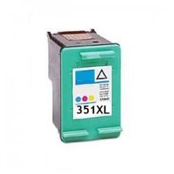 Tinteiro HP Compatível Nº 351 XL tricolor (CB338EE)