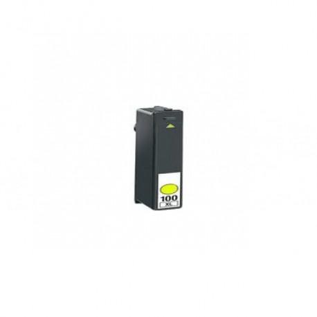 Tinteiro Lexmark Compatível Nº 100XL Magenta