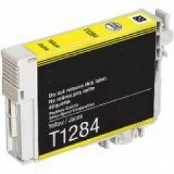 Tinteiro Epson Compatível T1284 - Amarelo