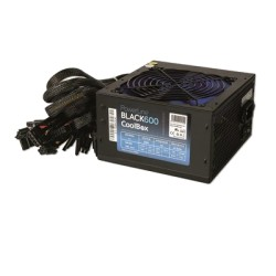 Fonte de Alimentação ATX 600W COOLBOX Powerline Black PCI-E