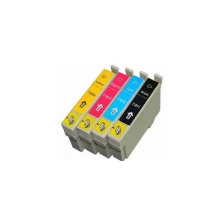 Conjunto 4 Tinteiros Epson 18 XL - ref T1811/2/3/4 (T1815)