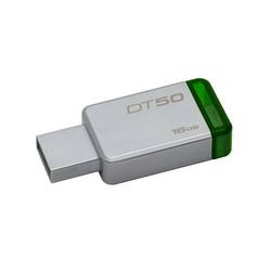 Kingstone Pendrive 16GB DataTraveler 50 USB 3.0 Metal/Green