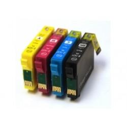Pack 4 Tinteiros Epson 16 XL Compatíveis - T1631/2/3/4 (T1635)