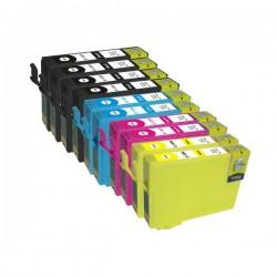 Pack 10 Tinteiros Epson 16 XL Compatíveis - T1631/2/3/4 (T1635)