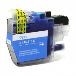 Tinteiro Brother Compatível LC3213 / LC3211 Azul