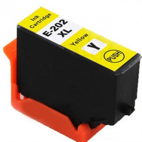 Tinteiro Epson Compatível 202 XL - T02G4 / T02E4 Amarelo