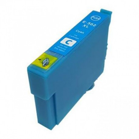 Tinteiro Epson Compatível 502 XL - T02W2 / T02V2 Azul