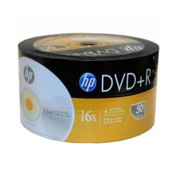 DVD-R HP 16X - Pack 50