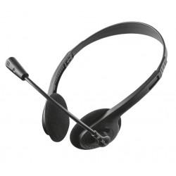 Trust 21517 Auriculares con Microfono Ziva Negro