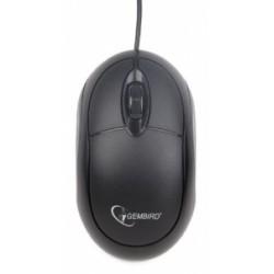 Rato Óptico Gembird Usb 2.0 Preto