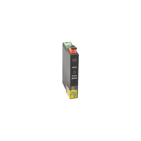 Tinteiro Epson Compatível 26 XL, T2631 preto