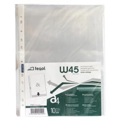 EMB.10 BOLSA CATALOGO A4 FEGOL 80MIC W45/10 (MICAS)