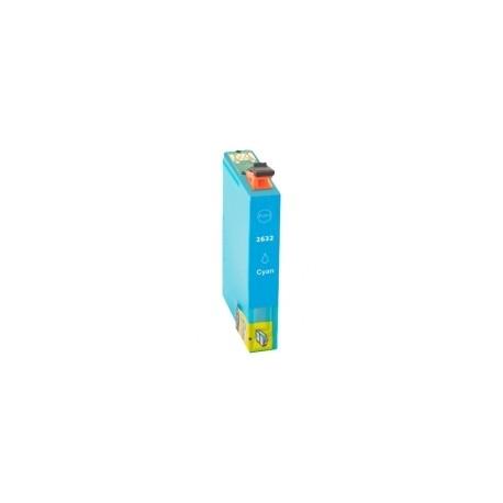 Tinteiro Epson Compatível 26 XL, T2632 azul