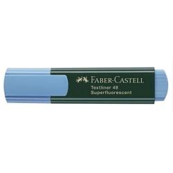 Marcador Fluorescente FABER-CASTELL Azul 154851